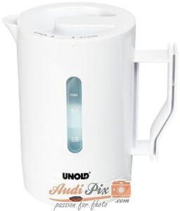 Unold 8210 - Hervidor de agua para viajes de 0.5 l, 1000 W   más información y comentarios