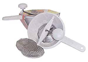 7.75 Inch Food Mill with 3 Stainless Steel Blades by Acea by chefgadget