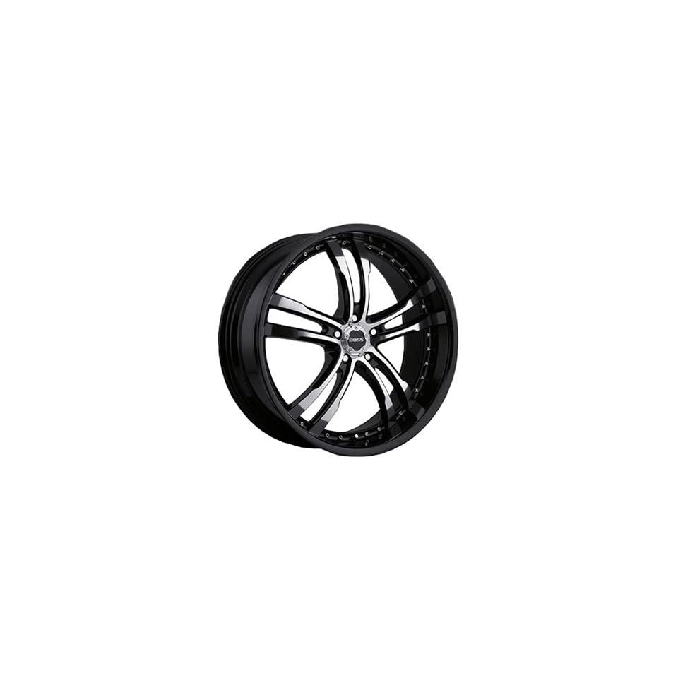 Boss 337 22 Black Wheel / Rim 5x120 with a 20mm Offset and a 82.80 Hub Bore. Partnumber 33780999