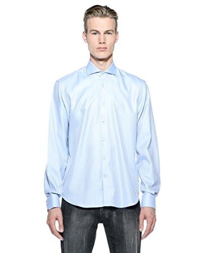 Poggianti Camicia 141-31-F352998-13 [Azzurro]
