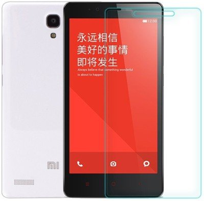 MOBIWIK Tempered Glass Shatterproof For Mi-Redmi-Note-Prime(0.3mm) (White)