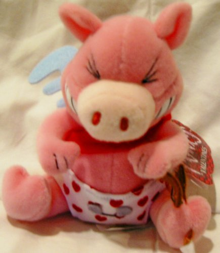 Meanies Valentines Plush-Stupid Cupig - 1