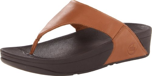 Fitflop Lulu, Sandali da donna, Colore Marrone (Toffee/Tan), Taglia 5 UK (38 EU)