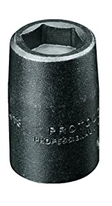 Stanley-Proto Stanley Proto J6907MPF 1/4-Inch Drive Metric High Strength Magnetic Power Socket, 7mm, 6 Point
