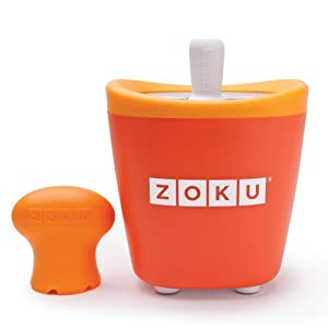 Zoku Single Quick Pop Maker,Orange