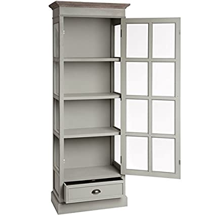 Hill Interiors New Lyon Tall Glazed Display Cabinet,