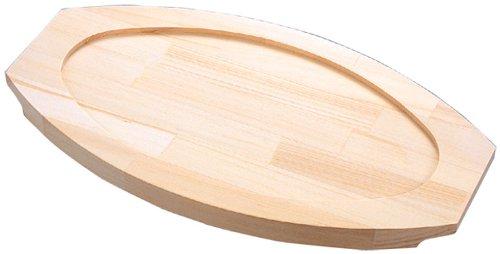小判 グラタン皿用 木台 #4 360×190