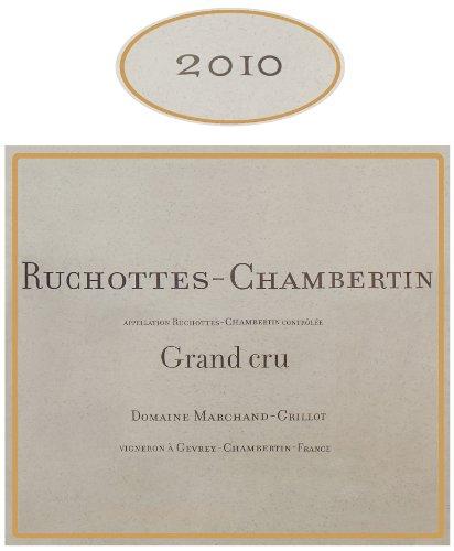 2010 Domaine Marchand Grillot Grand Cru Rochottes-Chambertin 750 Ml