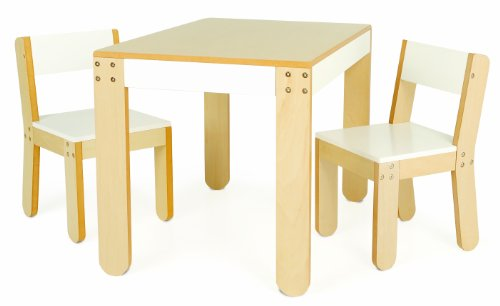 Find Discount P'kolino Little One's Table and Chairs, White