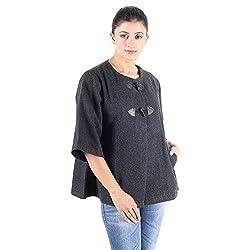 Owncraft Women's Grey Black Herringbone Wool Jacket 3