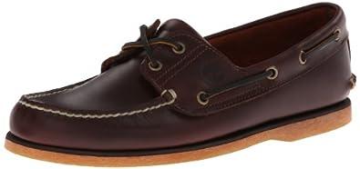 Timberland Men's Classic Boat Shoe,Rootbeer/Brown,7 M