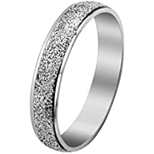 buy Women - Size 7 - Men Women'S Classic Stainless Steel Love Promise Ring Valentine Couples Wedding Bands Engagement Silver