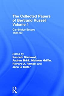 Philosophical Essays: Bertrand Russell: 9780415474498