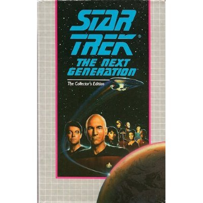 Star Trek The Next Generation Collector's Edition VHS: Pen Pals & Q Who