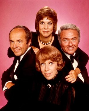 The Carol Burnett Show - Carol Burnett, Tim Conway, Vicki Lawrence, Harvey Korman