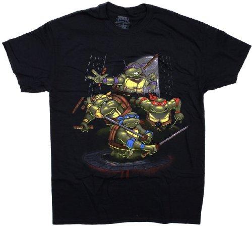 Ninja Turtles Group Pi'a TMNT T-Shirt