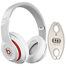 Beats by Dr. Dre Studio 2.0 White Over-Ear Headphones Carry Pack with Wire Holder