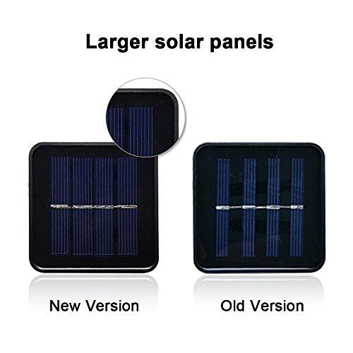 solar lichterketter lampions anglink 4 8 meter 20er led wasserdicht au en lichterkette f r haus. Black Bedroom Furniture Sets. Home Design Ideas