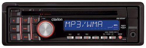 Clarion Db185Mp Cd/Mp3/Wma Receiver With Front Panel