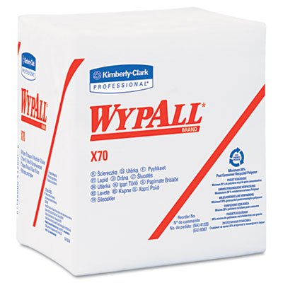 WypAll X70 Workhorse Rags Model Code: AE - Price is for 1 Case, 12PKG/CS (part# 41200)
