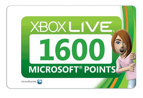 Xbox 360 Live 1600 Points [Online Game Code]