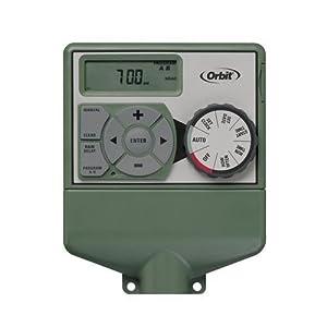 Orbit Underground 57876 Dual 6-Station Timer for Sprinkler Control