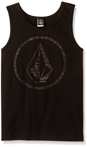 Volcom Big Boys' So What Tank Top, Black, X-Large