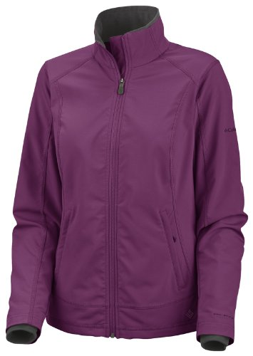 Columbia Damen Softshell Jacke No Fail Trail II, Dark Orchid, L, EL6522_503