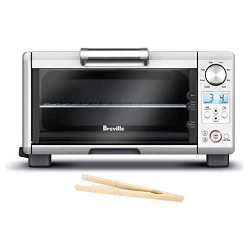 Breville Mini Smart Oven with Element IQ and Free Bamboo Toast Tongs (Toast Oven Breville compare prices)