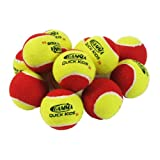 Gamma Quick Kids 36 Tennis Ball (12-Ball Pack, Yellow/Red)