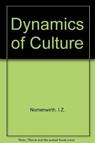 Dynamics of Culture PDF