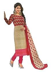 Design Willa Classic Cotton Dress Material (DW077)