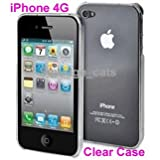 NEW IPHONE 4S / IPHONE 4 SUPER SLIM FIT TRANSPARENT BACK COVER CASE - CLEAR PART OF THE QUBITS ACCESSORIES RANGEby Qubits