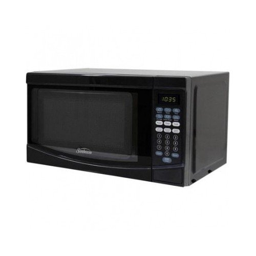 Sunbeam 0.7 Cubic Ft 700 Watt Microwave Oven Sgke702, Black