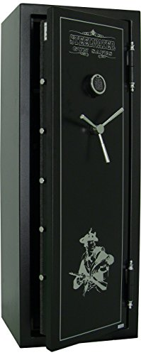 Steelwater 16 Long Gun Fire Protection for 45 Minutes AMSW592216-BLK by Steelwater Gun Safes