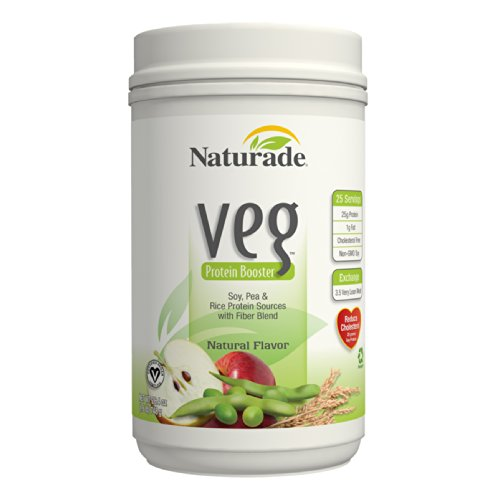 Naturade Veg Protein Booster, Natural Flavor, 30 Ounces