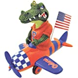 NCAA Florida Gators Mascot Airplane Ornament