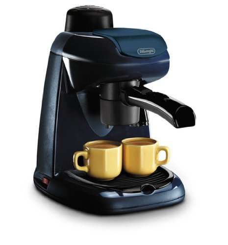Delonghi EC5 4-Cup Cappuccino Espresso & Coffee Maker, 220-Volts (Not for USA)