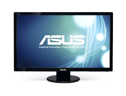 ASUS VE276Q 27-Inch Wide (16:9) 2ms Response Time Display Port LCD Monitor - Black