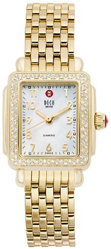 Michele Women's MWW06D000020 Deco Diamond Quartz Watch