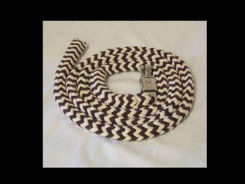 Anbindestrick, Führstrick aus Baumwolle braun