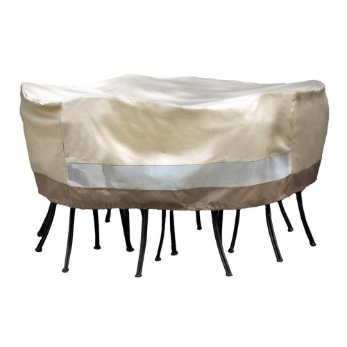 patio armor sf40281 round table and chair set cover new free shipping