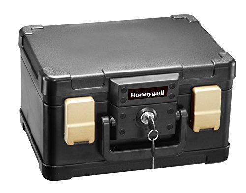Honeywell 1102 1/2 Hour Fire/Water Safe Chest 0.15 Cubic Feet