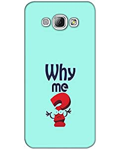 WEB9T9 Samsung Galaxy A5 back cover Designer High Quality Premium Matte Finish 3D Case