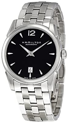Hamilton Men's H38515135 Jazzmaster Black Dial Watch