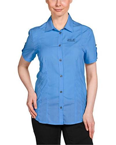 Jack Wolfskin Camicia Donna [Blu]