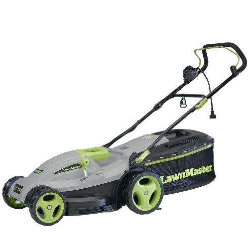 LawnMaster MEB1246M 18-Inch 3-in-1 Electric Mulching Mower picture