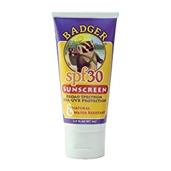 Badger Sunblock Face & Body 2.9 oz Tube SPF 30