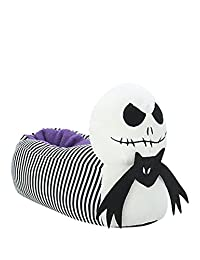 The Nightmare Before Christmas Stripes Jack Head Slippers