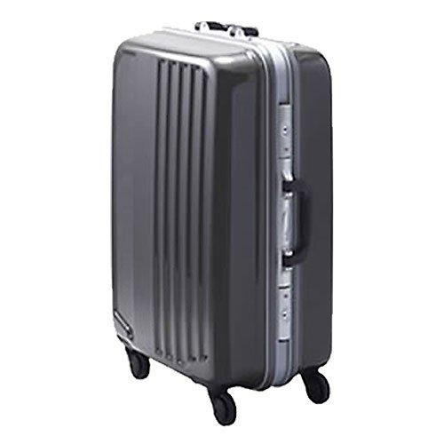 スーツケース キャリーバッグ キャリーケース 4輪 TSAロック 中型 Mサイズ 70L to-dl-1116-m (ガンメタ)
